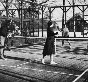Orange Lawn Tennis Club: Mr. &. Mrs. Edward S. Cooke, Mr. & Mrs. C. Edwin Williams.