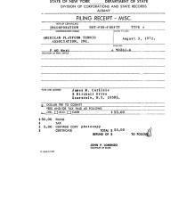 APTA Incorporated as Non-Profit