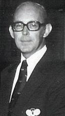 Robert A. Brown. Photograph taken at Fox Meadow Tennis club on January 22, 1978 at gathering of APTA's