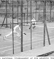 Men's National Championship 1938, Fox Meadow Tennis Club, Scarsdale, NY