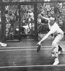 John R. Moses playing at Fox Meadow Tennis Club