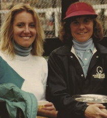 Hilary Hilton Marold (left) and Yvonne Hackenberg.