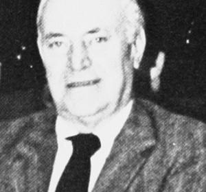 Richard K. Hebard, 1983. Photograph taken at FMTC Centennial