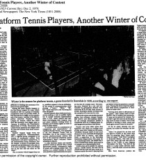 New York Times December 2, 1979