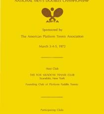 1972 National Men's program