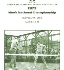 1973 Men's Nationals Program Brochure