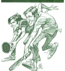 1975 Men's Nationals program