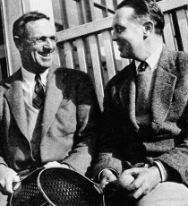 The Founders of the game. Fess Blanchard (left) and Jimmy Cogswell.