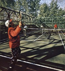 It's not tennis, it's not ping-pong, and its booming. 