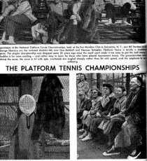The Platform Tennis Championships
