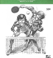 1978 Men's Nationals Program Brochure