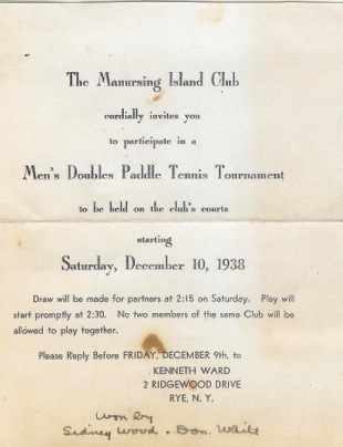 History of the game platform tennis museum and hall of fame page 6 back to top invitation to manursing island clubs mens tournament stopboris Choice Image