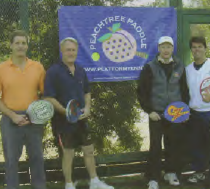 John and Nick Gill lost in the Peachtree finals to Atlanta's Peter Lauer and Jay Bailey