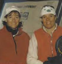 Tonia Dillon Mangan and Bobo Delaney Mangan at the 1998 National Championships