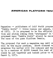 Source: APTA Executive Committee Minutes December 1972